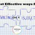 3 Cost Effective Ways for Marketing Your Business